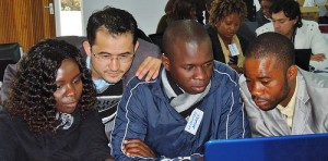 A training session for CSOs on aid and budget data, run by DI with partners in 2013