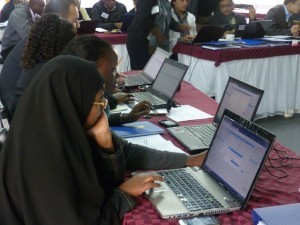 DI training for CSO representatives on use of open data, Kenya, 2013