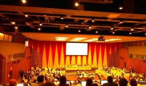The UN ECOSOC Chamber