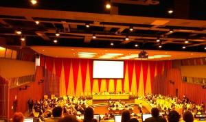 The UN ECOSOC Chamber