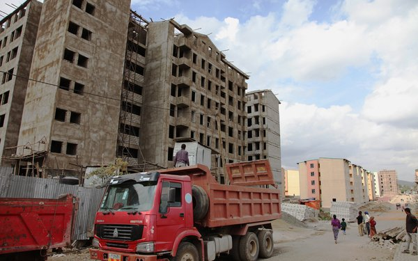 Building homes, hospitals and more - Dire Dawa, Ethiopia - March 2013