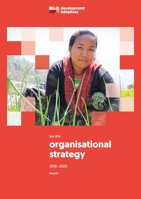 Organisational strategy 2016-2020 cover