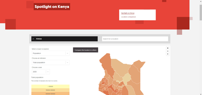 Screen grab - Spotlight on Kenya